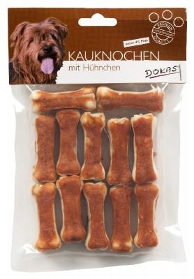 Dokas Dog Kauknochen Hühnchen 5 cm, 10 cm oder 15 cm
