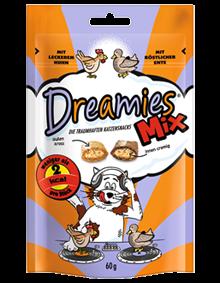Dreamies Cat Mix mit Huhn & Ente 6 x 60 g