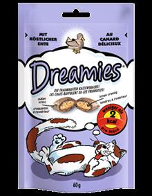 Dreamies Cat mit Ente 6 x 60 g