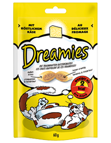 Dreamies Cat mit Käse 6 x 60 g