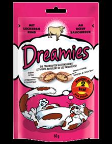 Dreamies Cat mit Rind 6 x 60 g