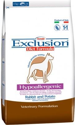 Exclusion Diet Adult mit Kaninchen und Kartoffel 3 kg oder 12,5 kg (SPARTIPP: unsere Staffelpreise)