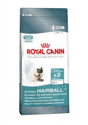 Royal Canin Feline Care Intense Hairball 34, 400 g