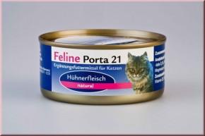 Feline Porta 21 Hühnerfleisch pur natural 90 g, 156 g oder 400 g