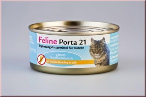 Feline Porta 21 Thunfisch & Breitling 90 g, 156 g oder 400 g
