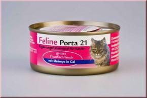 Feline Porta 21 Thunfisch mit Schrimps 24 x 90 g