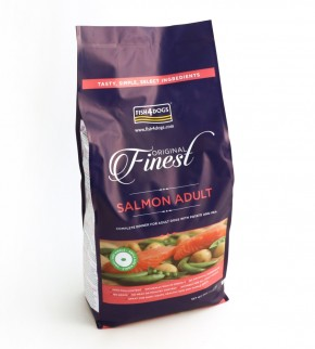 Fish4Dogs Finest Salmon Adult Small Bite 1,5 kg (SPARTIPP: unsere Staffelpreise)