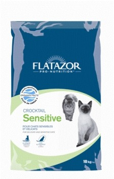 Flatazor Cat Crocktail Sensitive mit Lachs 12 kg
