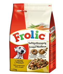 Frolic Saftig & Knusprig mit Huhn 5 x 1,5 kg