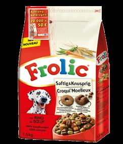 Frolic Saftig & Knusprig mit Rind 5 x 1,5 kg
