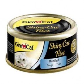 Gimpet Cat ShinyCat Filet Thunfisch 24 x 70 g