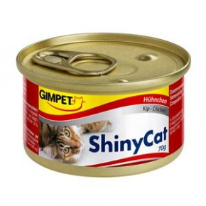 Gimpet Cat ShinyCat Hühnchen 24 x 70 g