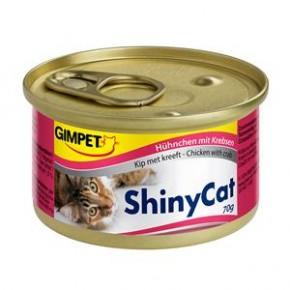Gimpet Cat ShinyCat Hühnchen mit Krebsen 24 x 70 g