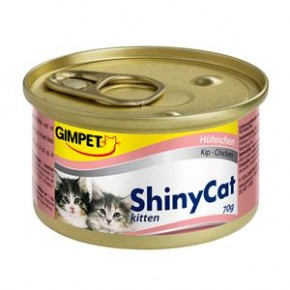Gimpet Cat ShinyCat Kitten Thunfisch 24 x 70 g