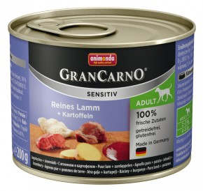 Animonda Dog Gran Carno Sensitiv Adult Reines Lamm plus Kartoffeln 200 g
