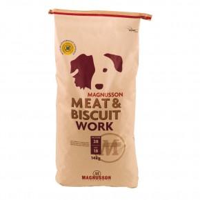 Magnusson Petfood Meat und Biscuit Work 4,5 kg oder 14 kg (SPARTIPP: unsere Staffelpreise)