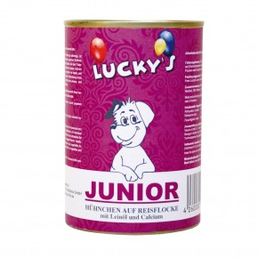 Luckys Junior Hühnchen & Reisflocke 400 g