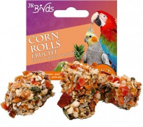 JR Farm Birds Corn Rolls Frucht 5 x 90 g