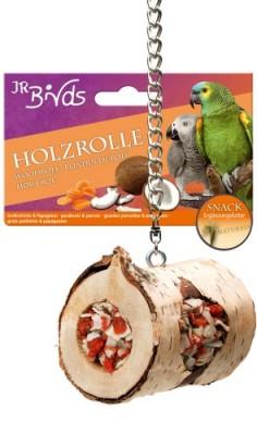 JR Farm Birds Holzrolle Großsittich und Papagei 5 x 150 g