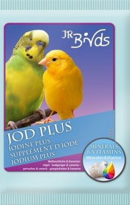JR Farm Birds Jod Plus für Wellensittich und Kanarien 10 x 30 g
