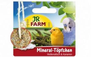 JR Farm Birds Mineral Töpfchen Wellensittiche und Kanarien 6 x 100 g