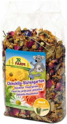 JR FARM Chinchilla Blütengarten 8 x 50 g