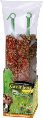 JR Farm Grainless Farmys Wildsamen Distelblüte 8 x 140 g
