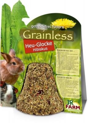 JR Farm Grainless Heu Glocke Hibiskus 5 x 125 g