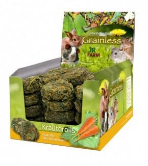JR Farm Grainless Kräuterolis Brennnessel Karotte 10 x 80 g