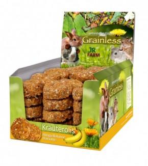 JR Farm Grainless Kräuterolis Ringelblume Banane 10 x 80 g