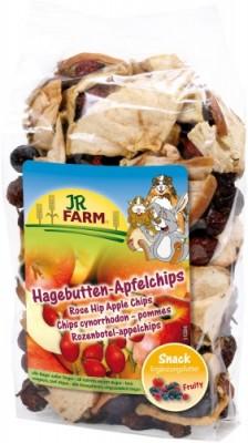 JR Farm Hagebutten Apfelchips 8 x 125 g