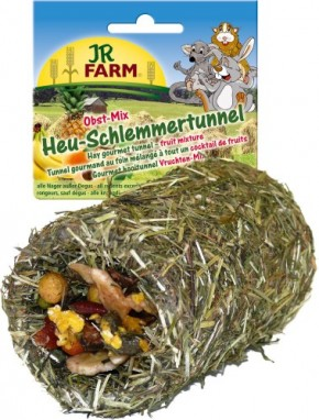 JR Farm Heu Schlemmertunnel Obst Mix 6 x 125 g