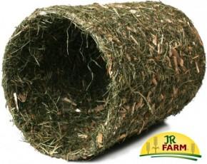 JR Farm Heu Tunnel + Naturholz groß 1 Stück