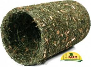 JR Farm Heu Tunnel + Naturholz mittel 1 Stück