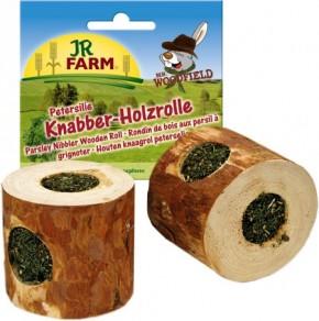 JR Farm Mr. Woodfield Knabber Holzrolle mit Petersilie 5 x 100 g