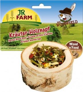 JR Farm Mr. Woodfield Kräuter Holznapf 6 x 120 g