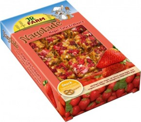 JR Farm Nager Tafel Erdbeere 7 x 125 g
