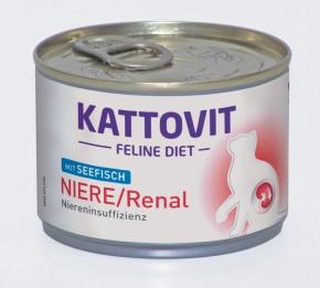 Kattovit Feline Nierendiät mit Seefisch Dose 175 g