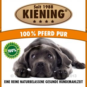 Kiening Dog 100% Pferd pur 410 g oder 820 g