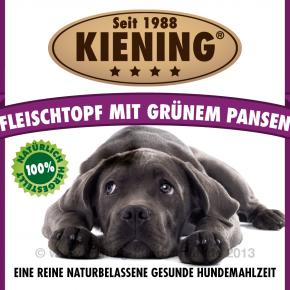 Kiening Dog Fleischtopf mit grünem Pansen 820 g