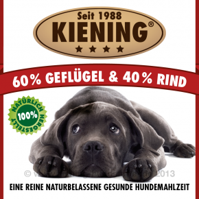 Kiening Dog Geflügel und Rind 410 g oder 820 g
