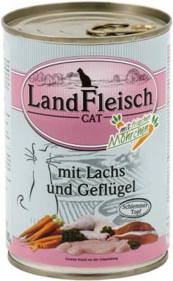 LandFleisch Schlemmertopf mit Lachs und Geflügel 400 g