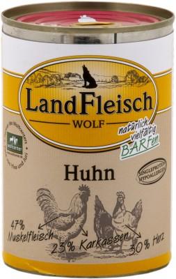LandFleisch Wolf mit Huhn 400 g