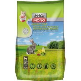MACs Cat Adult Monoprotein Kaninchen 300 g, 1,5 kg oder 7 kg (SPARTIPP: unsere Staffelpreise)