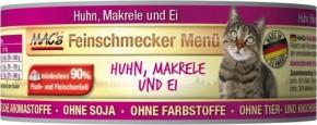 Macs Cat Feinschmecker Menü Huhn & Makrele 100 g