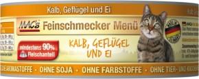 Macs Cat Feinschmecker Menü Kalb & Geflügel 100 g