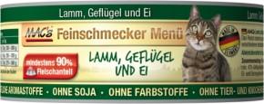 Macs Cat Feinschmecker Menü Lamm & Geflügel 100 g