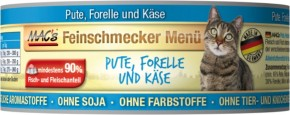 Macs Cat Feinschmecker Menü Pute & Forelle 100 g