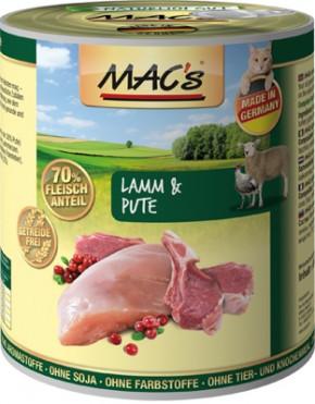 Macs Cat Lamm & Pute 6 x 800 g