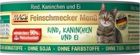 Macs Cat Feinschmecker Menü Rind & Kaninchen 100 g